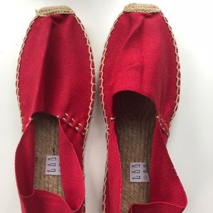 Brand New Red Slip On Shoes